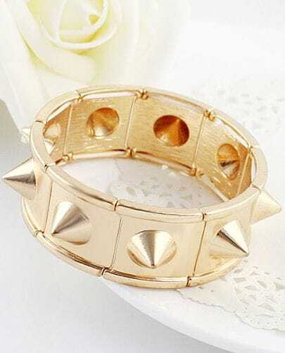 Fashion Gold Rivet Bracelet