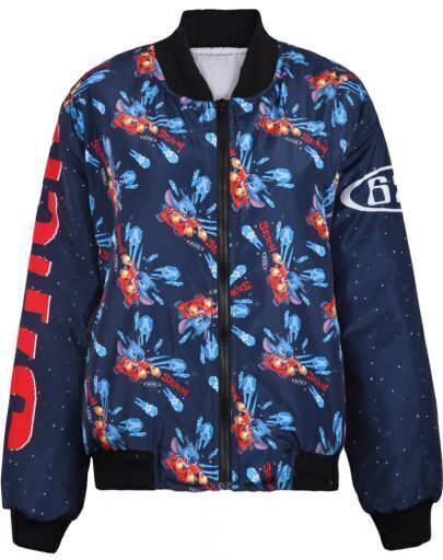 Navy Long Sleeve Buzz Lightyear Print Jacket