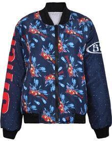Navy Long Sleeve Buzz Lightyear Print Jacket