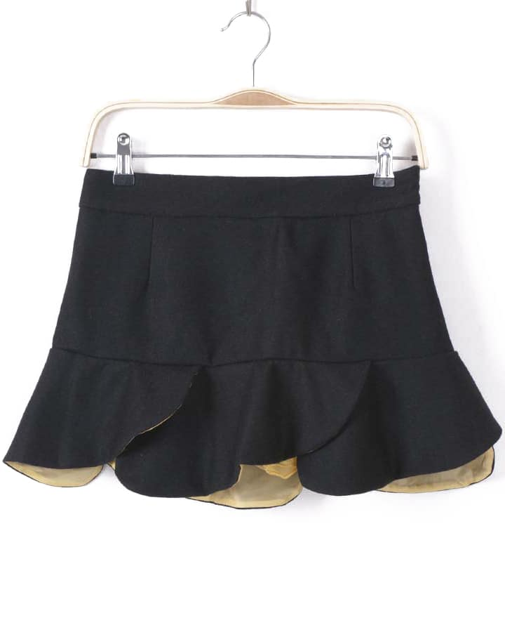 High Waist Ruffle Skirt 13