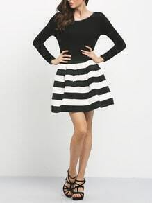 Super cute striped three quarter length sleeve dress On Sale starting under $15 for the large size and with free shipping options. Super cute striped three quarter length sleeve dress On Sale starting under $15 for the large size and with free shipping options.