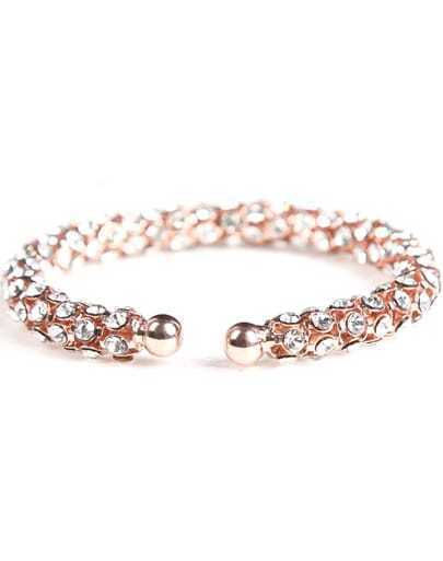 Fashion Gold Diamond Bracelet
