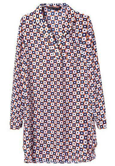Khaki Long Sleeve V Neck Plaid Pockets Dress