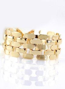 Bracelet en chaîne en vogue