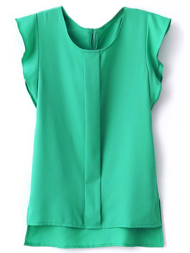 Стильная зеленая блуза от SheIn