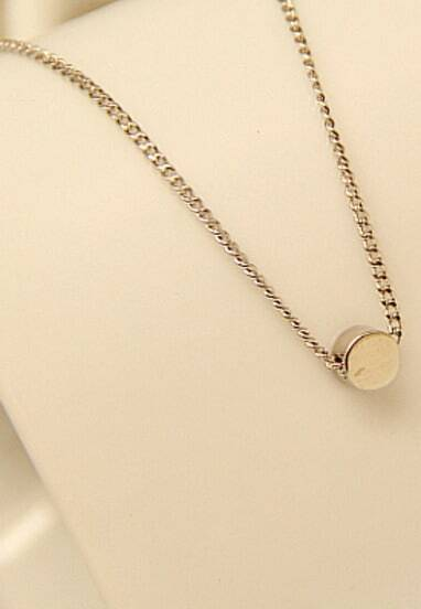 Silver Round Chain Necklace