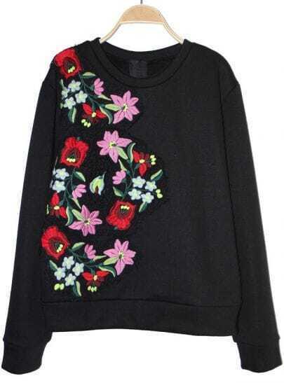 Купить женский свитшот с вышивкой на заказ