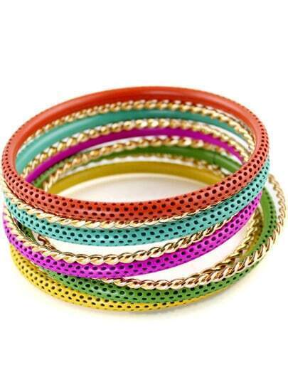 Multi Hollow Multilayers Bracelet