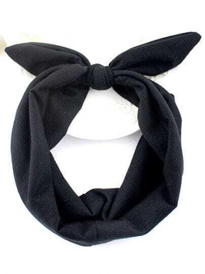 Black Bow Hair Accessories