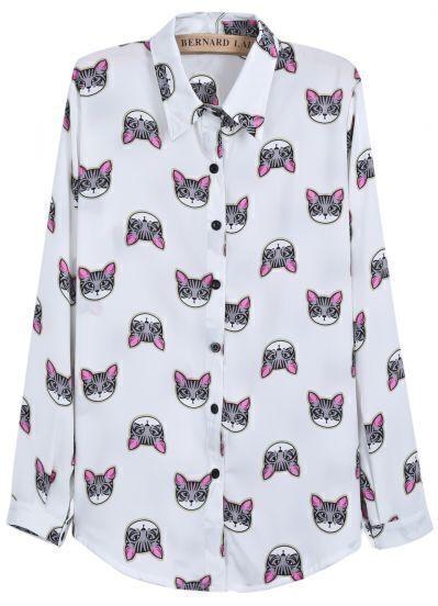 Блузка С Кошками В Омске