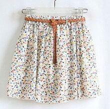 Beige Floral Pattern Dress Pant