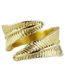 Fashion Gold Leaf Ring