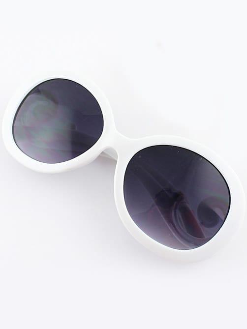 Фото White Lenses Red Sleek Sunglasses. Купить с доставкой