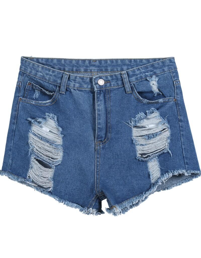 Denim Shorts fashion wife shops
