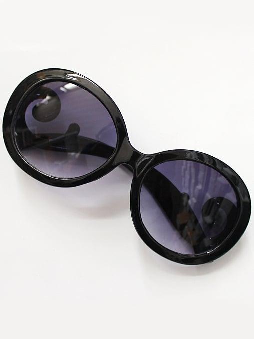 Фото Purple Lenses Black Sleek Sunglasses. Купить с доставкой