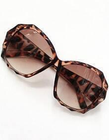 Brown Lenses Leopard Sunglasses