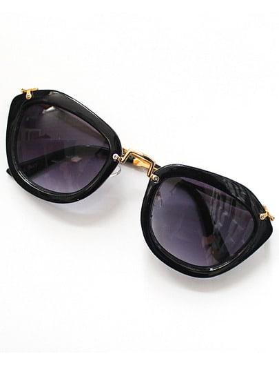 Black Rim Purple Sunglasses