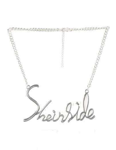 Silver Sheinside Chain Necklace