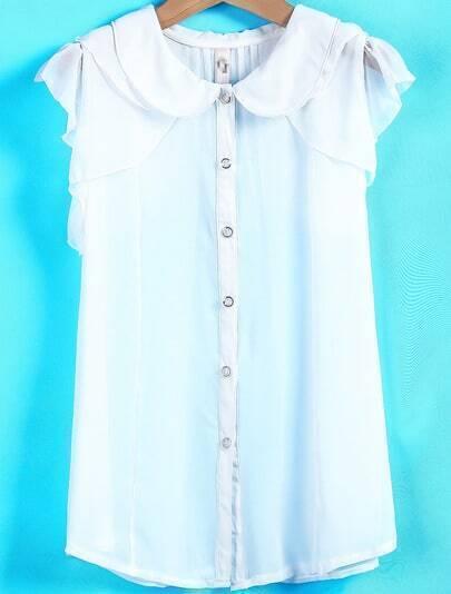 Блузка Из Белого Шифона Доставка