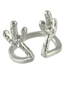 Fashion Silver Paw Ring