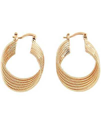Fashion Gold Chain Earrings