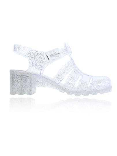 chaussures à talons hauts -blanc