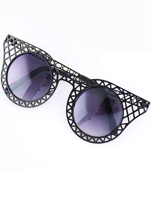 Black Hollow Cool Sunglasses