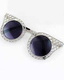 Silver Hollow Cool Sunglasses