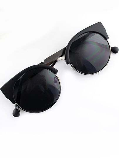Black Cat Eyed Sunglasses pictures