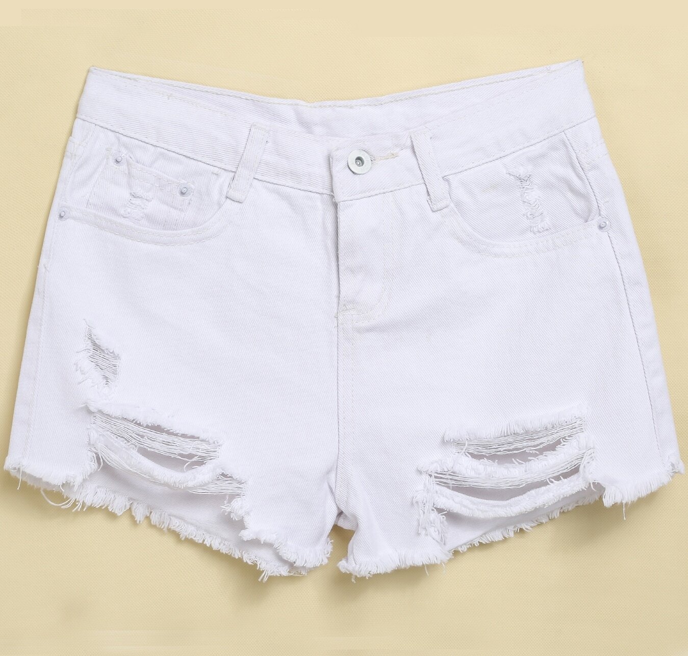 Womens Cut Off Jean Shorts