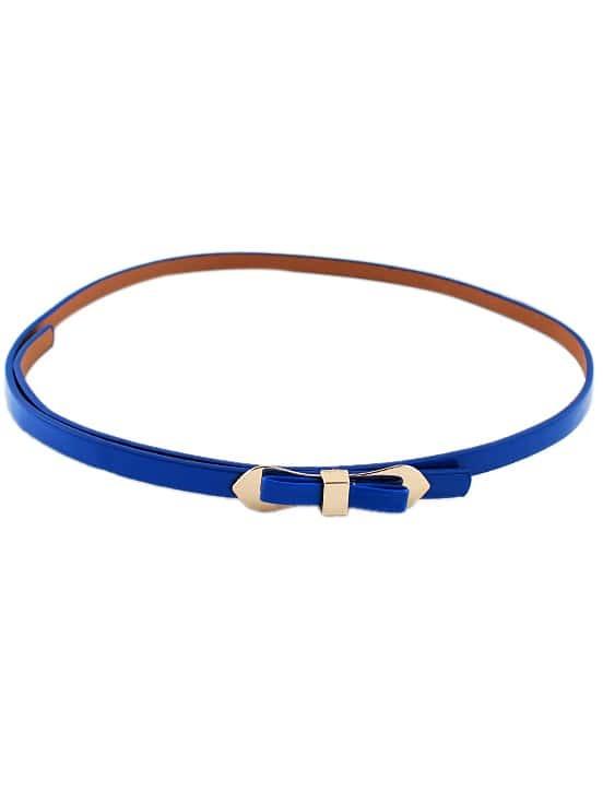 Фото Neon Blue Bow Belt. Купить с доставкой
