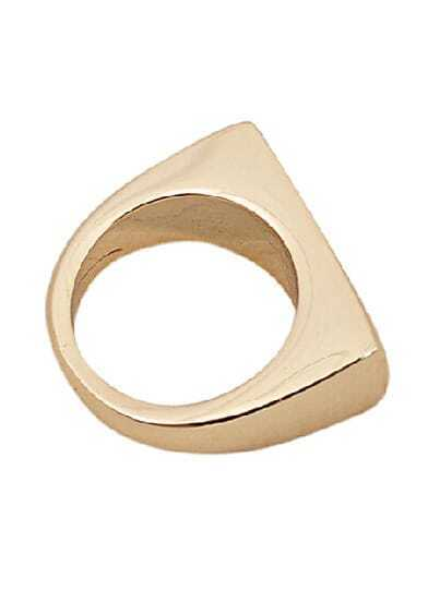Fashion Gold Simple Ring