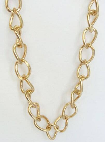 Fashion Gold Long Necklace