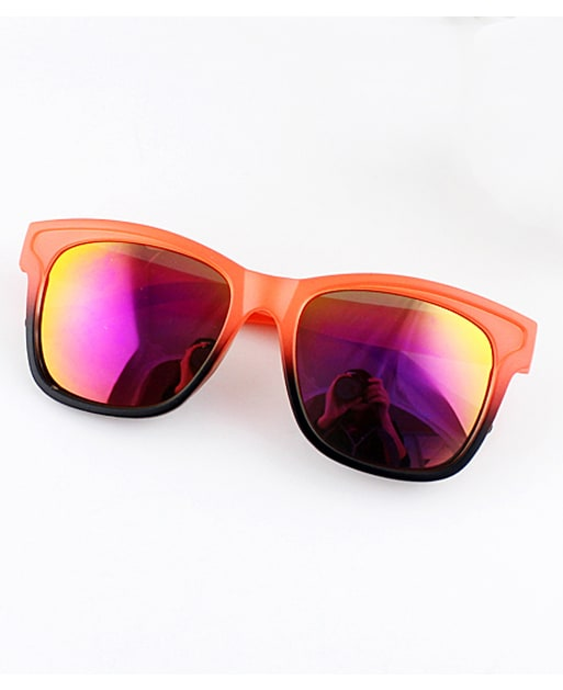 Orange Lenses Sheer Rim Sunglasses
