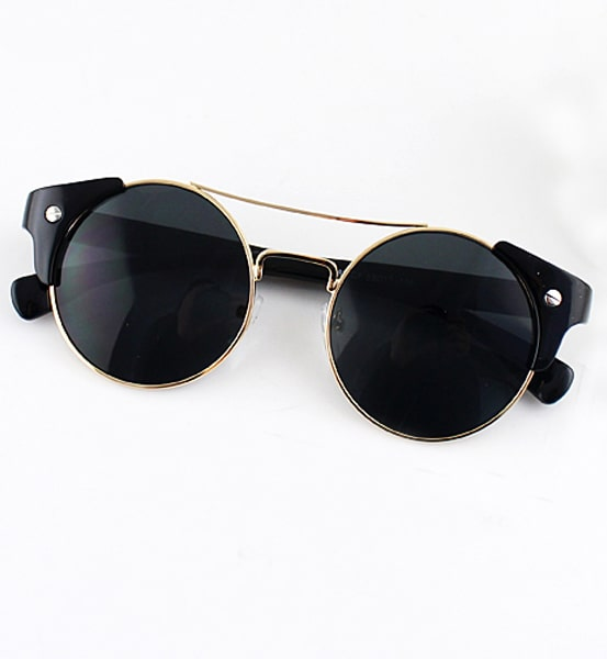 Related: mens black and gold sunglasses black and gold sunglasses for men. Include description. 3 Day Delivery. Categories. Selected category All. Clothing, Shoes & Accessories. gold and black sun glasses vintage round circle men Free Shipping. New (Other) $ or Best Offer. Free Shipping.