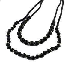 Black Beading Necklace
