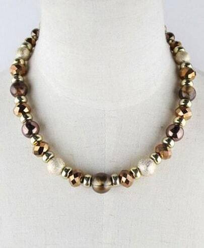 Multi Beading Necklace