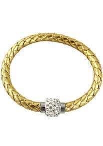 Gold Weave Diamond Bracelet