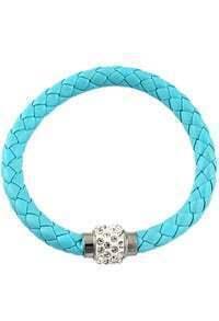 Blue Weave Diamond Bracelet