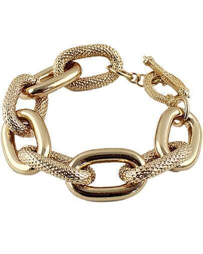 Fashion Gold Chain Bracelet
