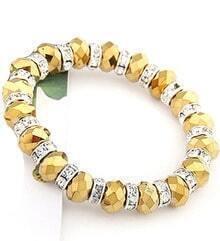 Fashion Gold Bead Bracelet