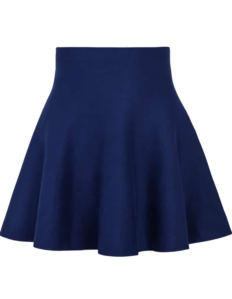 High Waist Ruffle Skirt 109