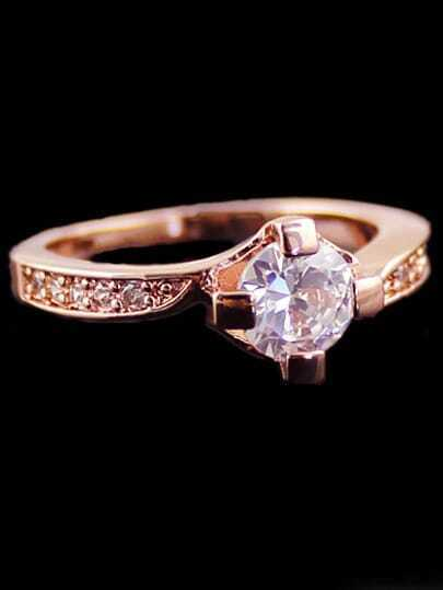 Gold Diamond Fashion Ring
