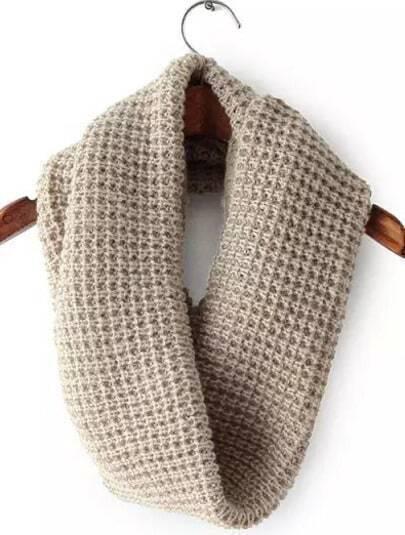 Apricot Vintage Knit Scarves