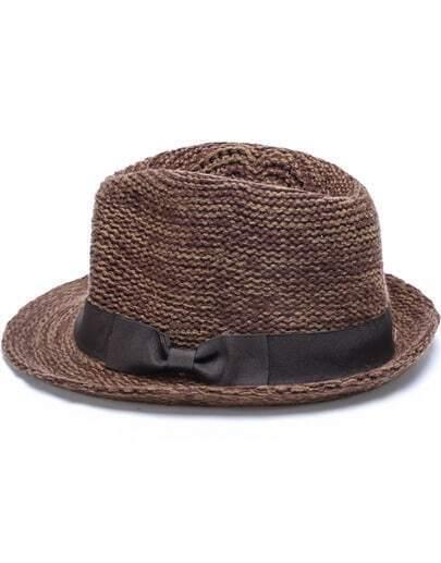 Dark Khaki Vintage Knit Hat