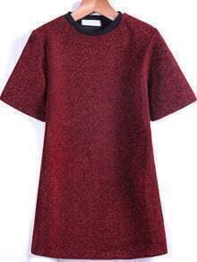 Red Short Sleeve Sparkling T-Shirt
