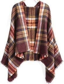 Red Classical Plaid Scarve