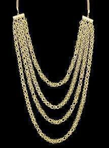 Multilayers Chain Necklace