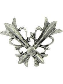 Silver Hollow Brooches