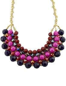 Red Bead Chain Necklace